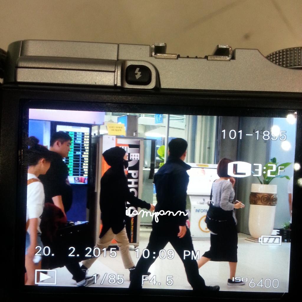 Tae Yang - Bangkok Airport - 20feb2015 -01.jpg
