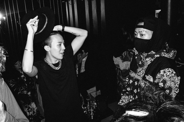 GDragon Xin Fake Candy afterparty Paris 2015-01-25
