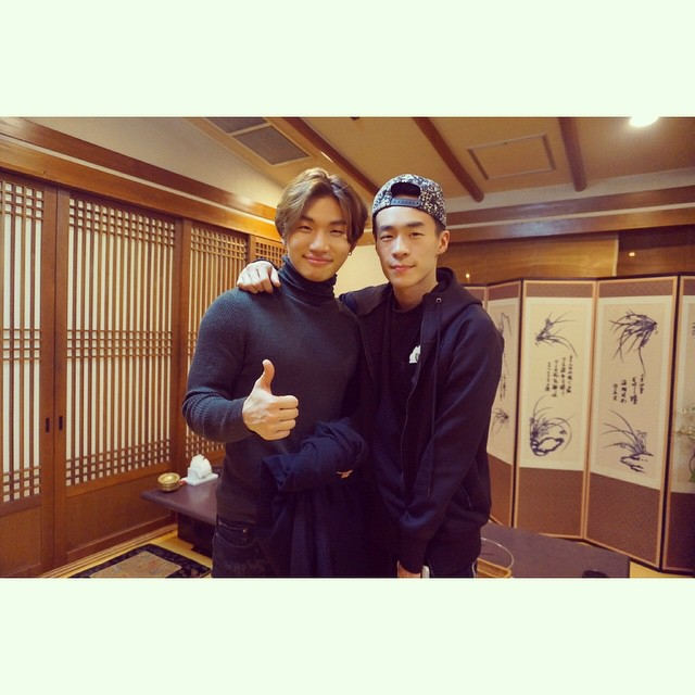 hitechgon IG with Daesung April 26 2015