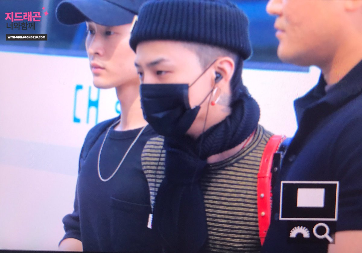 G-Dragon Departure Seoul to Singapore 2017-06-23 (3)
