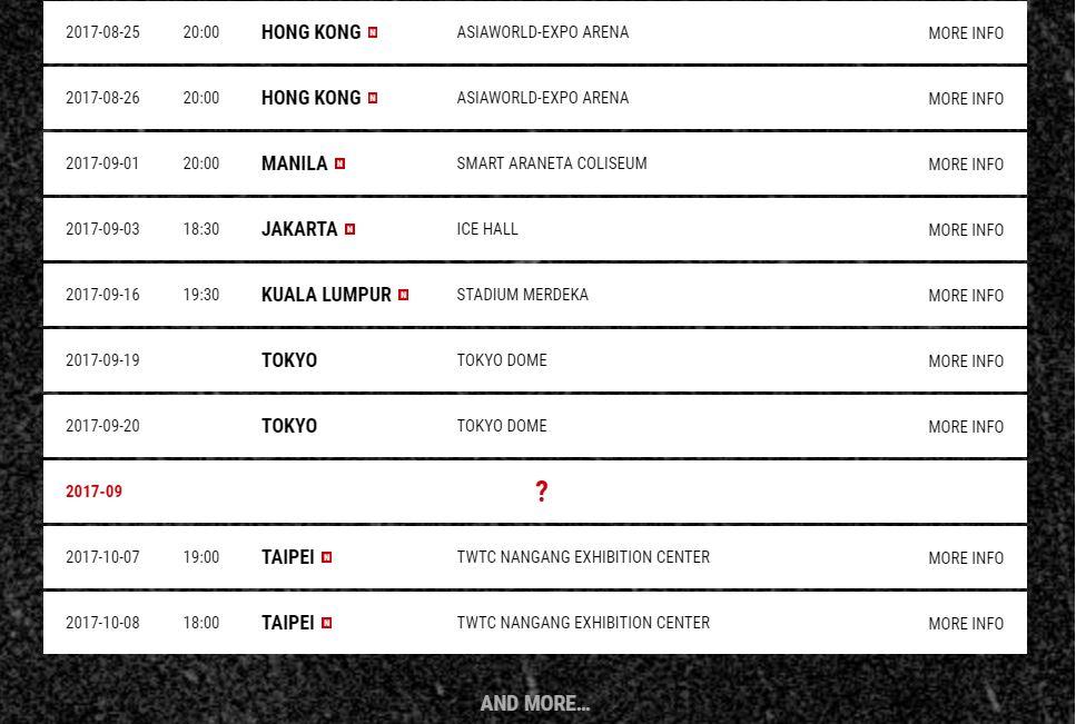 G Dragon New Tourdates