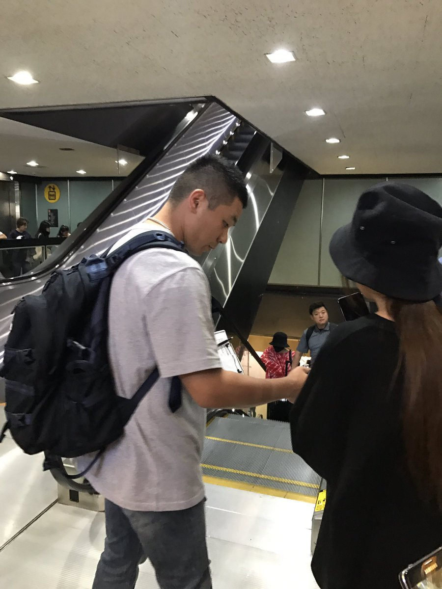 2017-07-10 G-Dragon arrival in Seattle from Seoul (3)