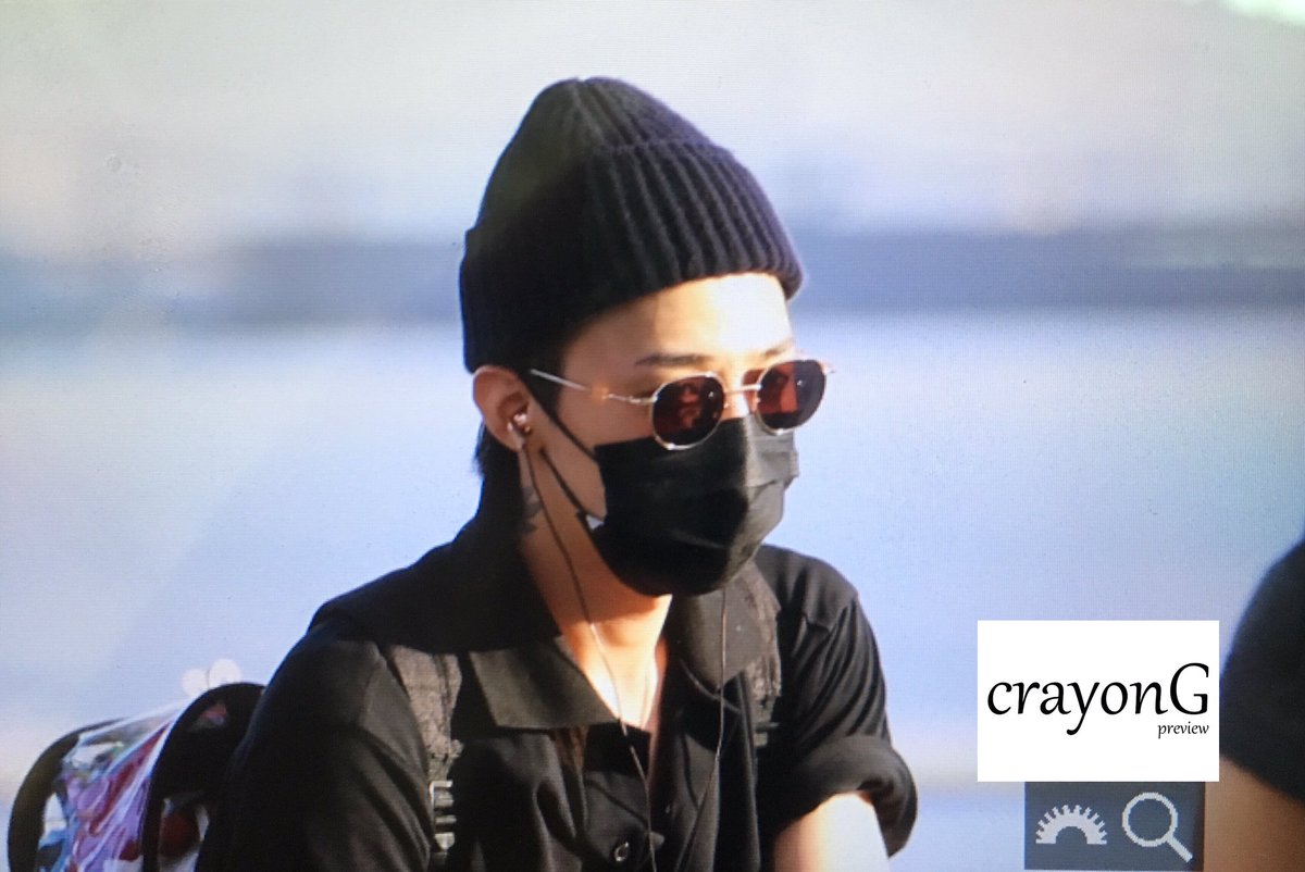 2017-08-03 G-Dragon departure Seoul ICN to Australia