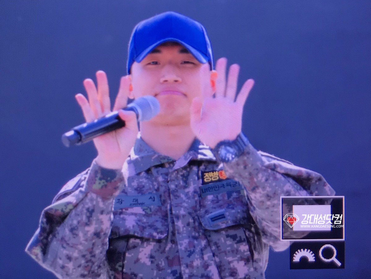 Taeyang Daesung Ground Forces Festival Korea 2018-10-08 (7)