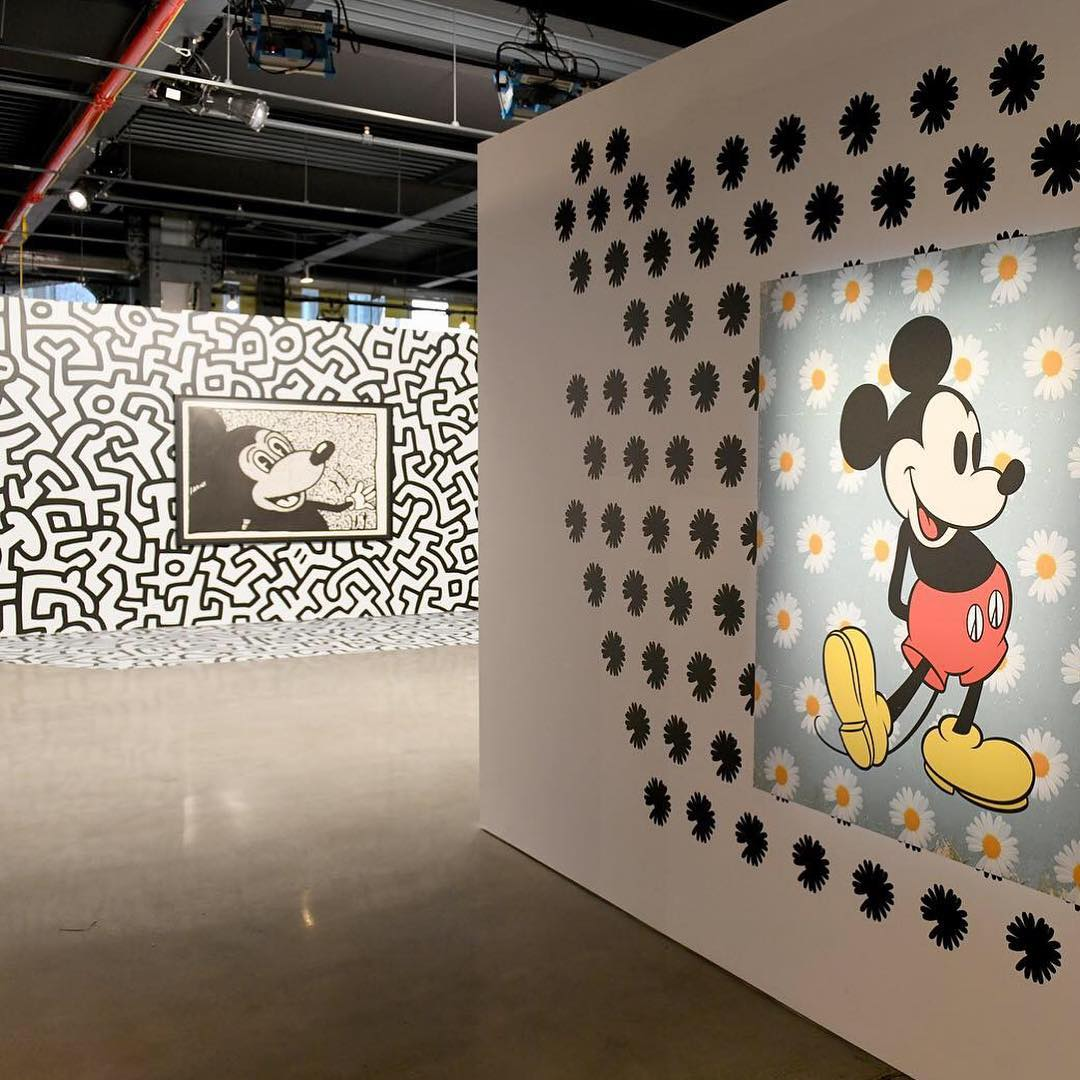 PeaceMinusOne Mickey Mouse Exhibition 2018 (2)