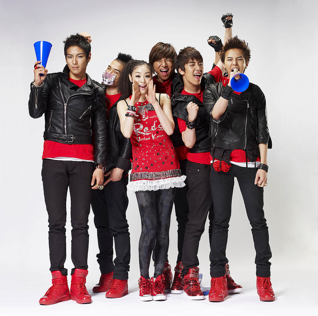 BIGBANG & KIM YUNA 2010 World Cup Theme Song The Shouts of Reds