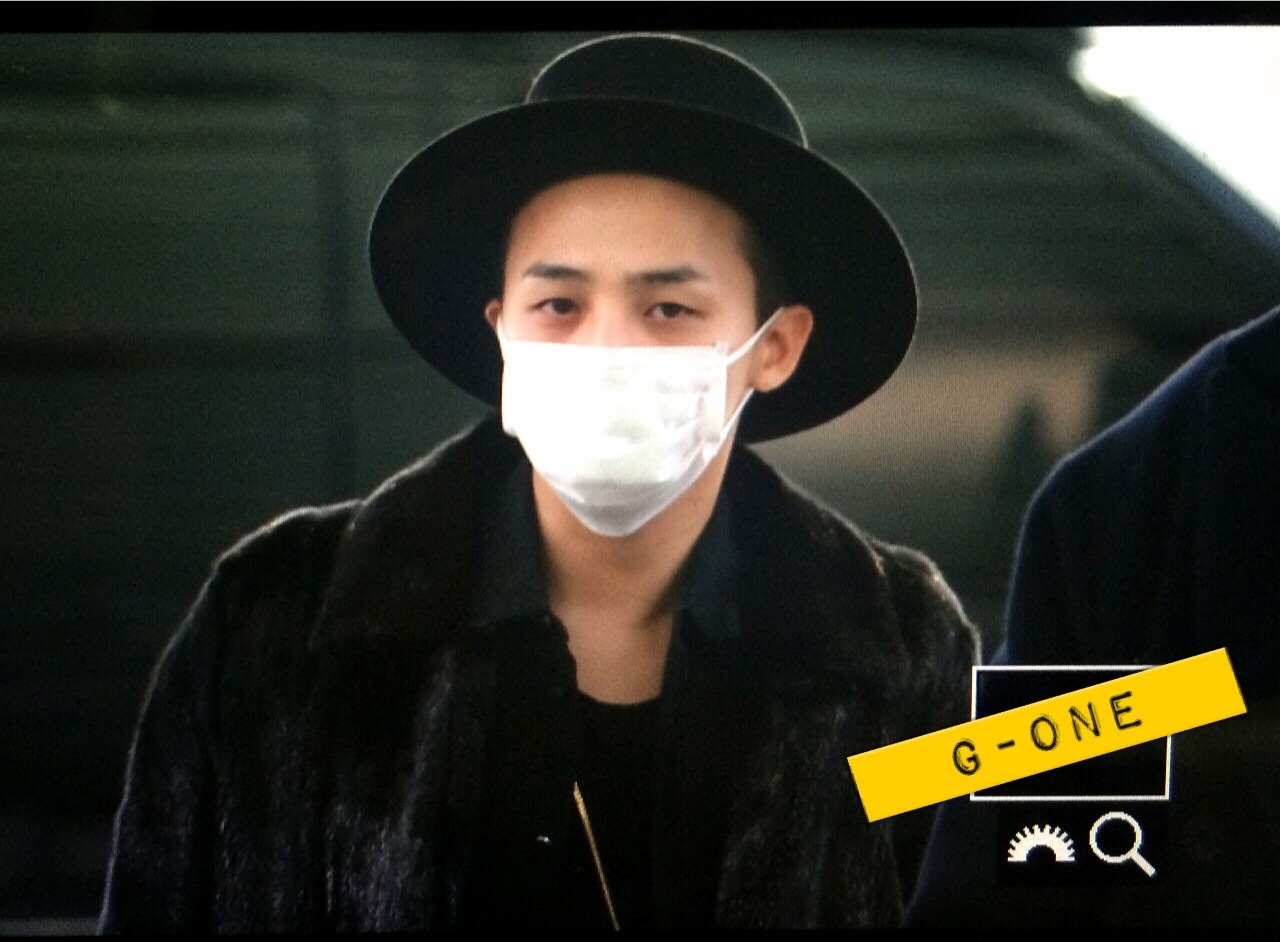 G-Dragon - Incheon Airport - 24jan2015 - G-One - 01.jpg