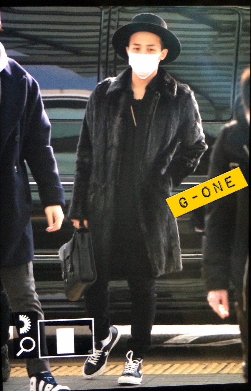 G-Dragon - Incheon Airport - 24jan2015 - G-One - 02.jpg