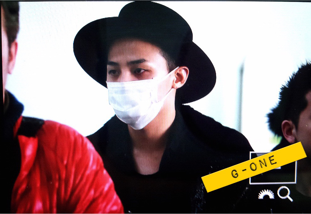 G-Dragon - Incheon Airport - 24jan2015 - G-One - 03.jpg