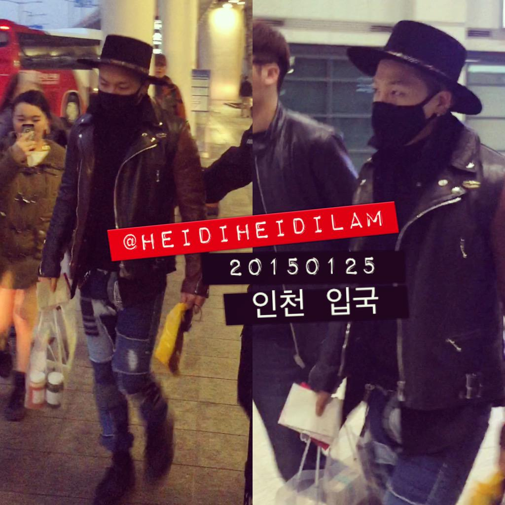 Tae Yang - Incheon Airport - 25jan2015 - heidiheidilam - 02.jpg