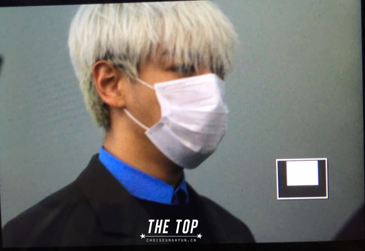 G-Dragon & TOP - Incheon Airport - 30jan2015 - TOP - The TOP - 06.jpg