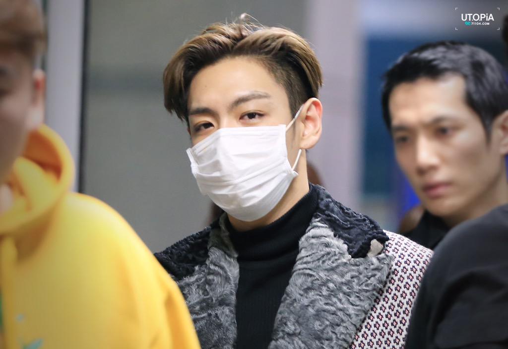 TOP - Incheon Airport - 16mar2015 - Utopia - 06.jpg