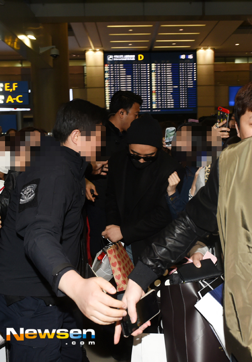 Big Bang - Incheon Airport - 22mar2015 - Seung Ri - Newsen - 02.jpg