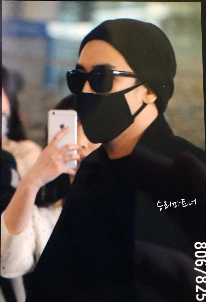 Big Bang - Incheon Airport - 22mar2015 - Seung Ri - Partnervi - 01.jpg