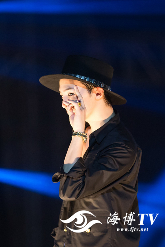 G-Dragon - V.I.P GATHERING in Fuzhou - 28mar2015 - FJTV - 07.jpg
