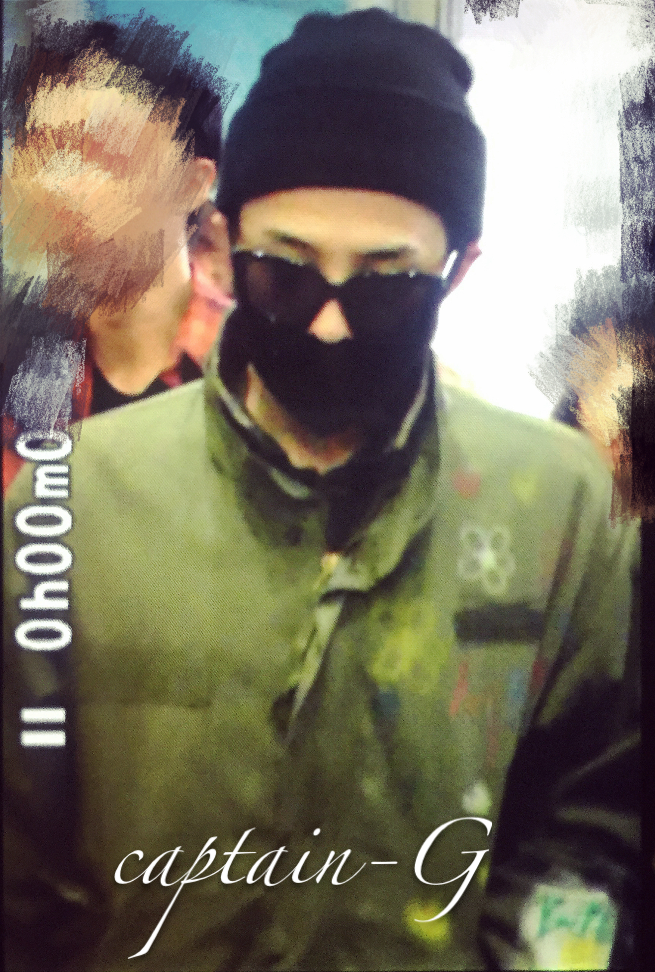 BIGBANG - Shanghai Airport - 29mar2015 - G-Dragon - Captain G - 01.jpg