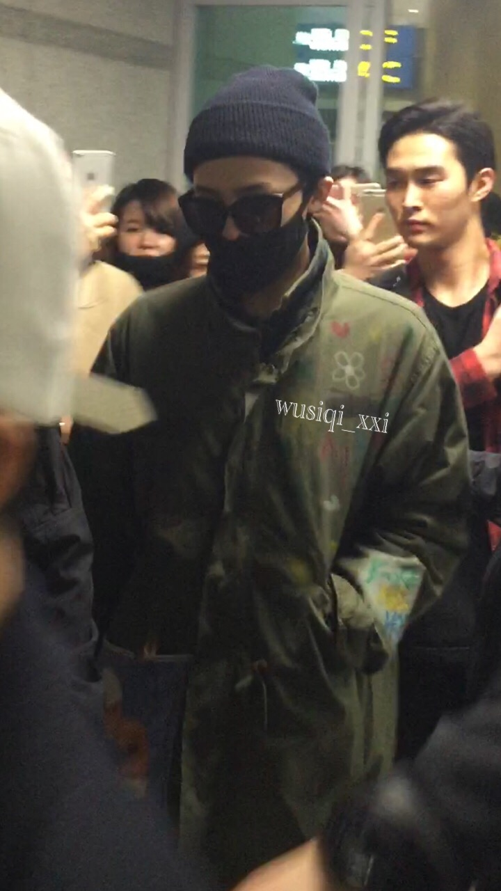 Big Bang - Shanghai Airport - 29mar2015 - G-Dragon - Wusiqi__xxi - 01.jpg