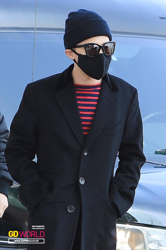 Big Bang - Incheon Airport - 01apr2015 - G-Dragon - GD World - 01.jpg