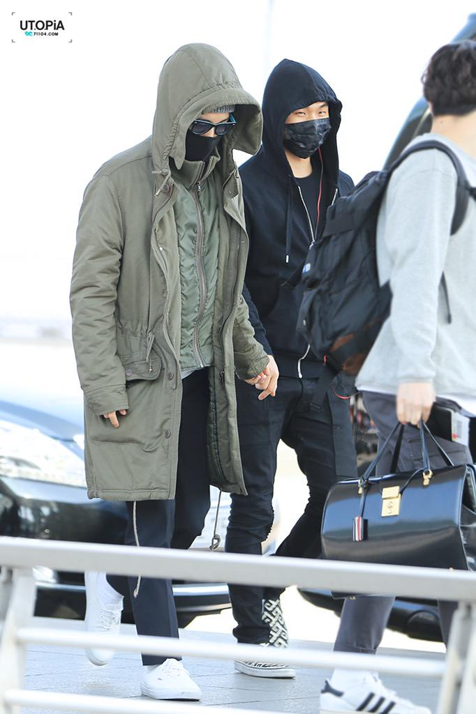 Big Bang - Incheon Airport - 01apr2015 - TOP - Utopia - 03.jpg