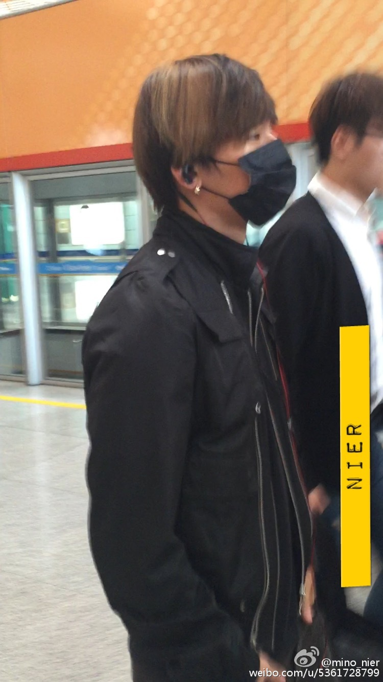 Big Bang - Beijing Airport - 05jun2015 - Dae Sung - mino_nier - 01.jpg