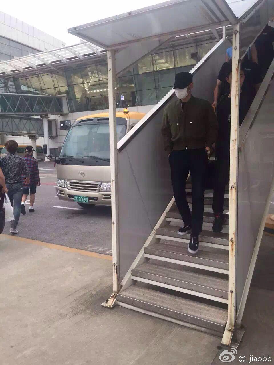 BIGBANG arrival Wuhan 2015-06-26 007.jpg