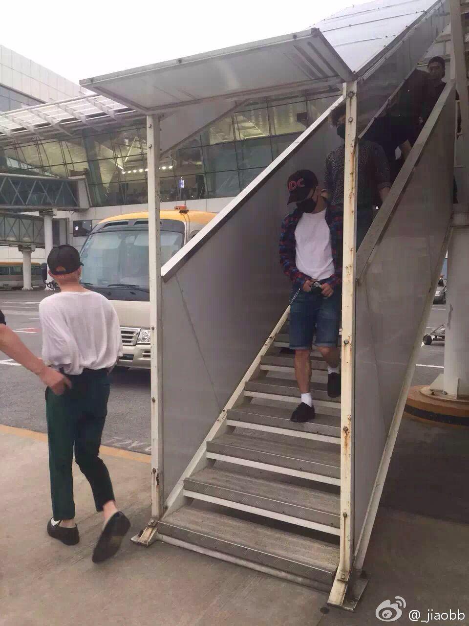 BIGBANG arrival Wuhan 2015-06-26 009.jpg