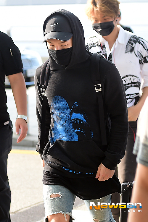 Big Bang - Incheon Airport - 07aug2015 - Newsen - 13.jpg