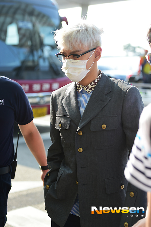 Big Bang - Incheon Airport - 07aug2015 - Newsen - 14.jpg