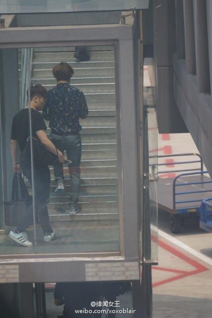 BIGBANG Departure Chengdu to Shanghai to Seoul 2015-08-15 (6).jpg