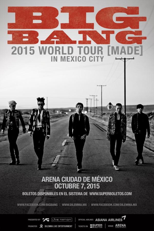 BIGBANG-MADE Mexico Andere