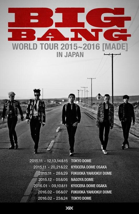 BIGBANG 2015-2016 Japan MADE Tour
