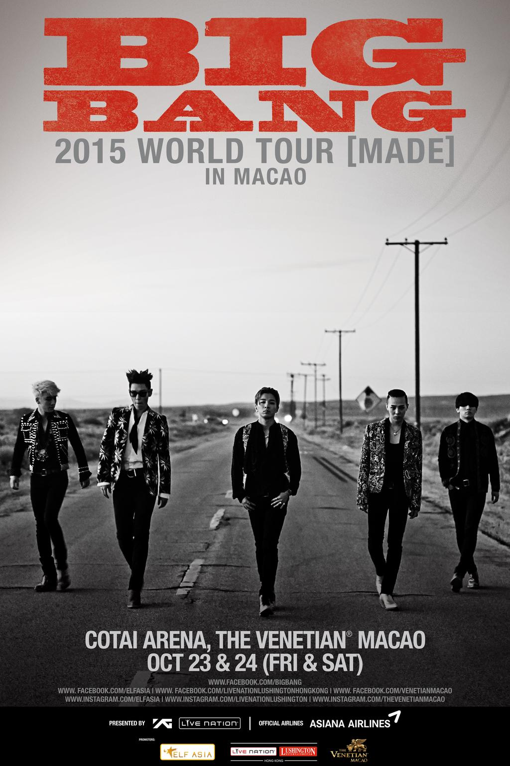 BIGBANG MADE Macao