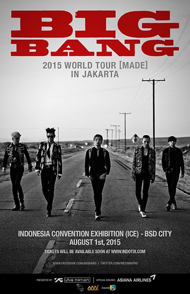BIGBANG Made in Jakarta 2015