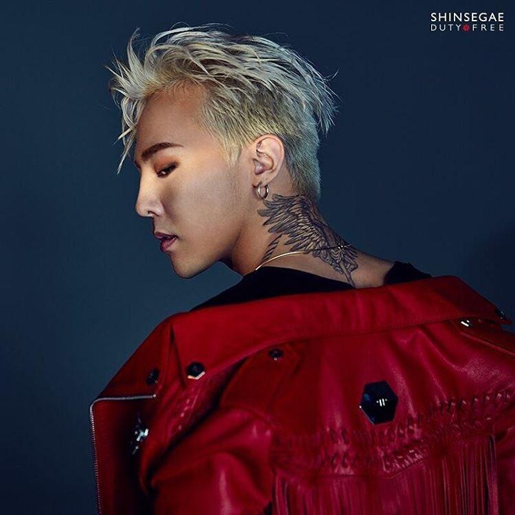 Photo] G-Dragon for Shinsegae 2016-09 - BIGBANGmusic