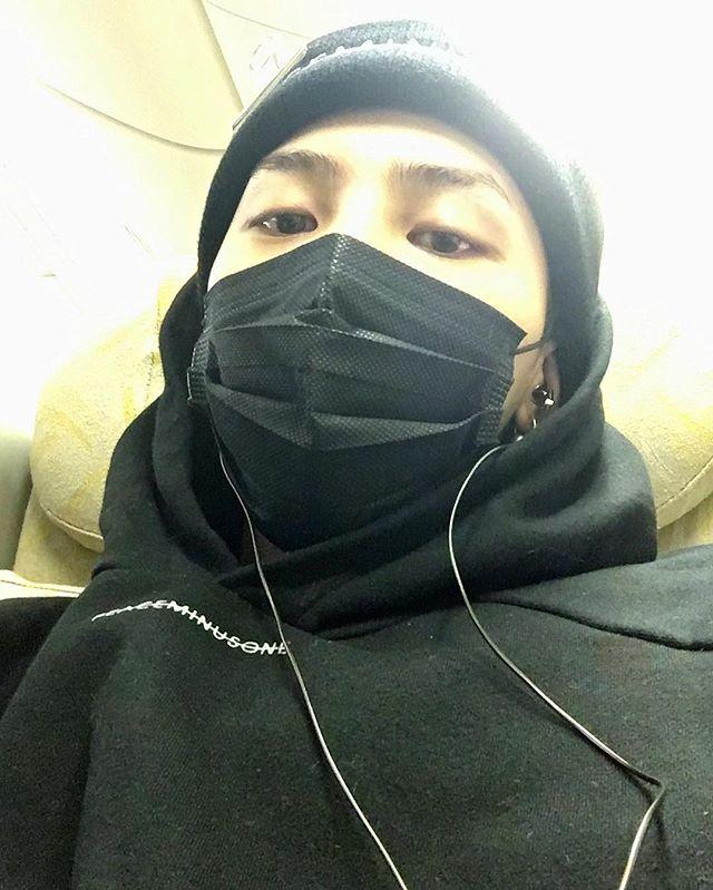 G-Dragon Instagram Jan 20, 2017 7:37pm Off to HK