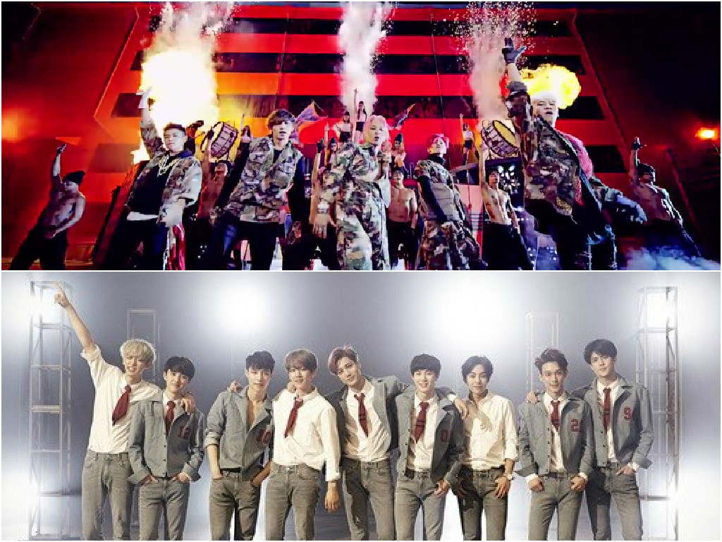 """BIGBANG and EXO to Go Head-to-Head on This Week's """"M!Countdown"""""""