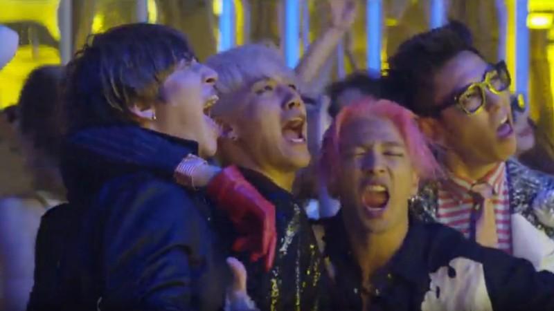 "BIGBANG Reveals Playful Making Video of ""BANG BANG BANG"" MV"