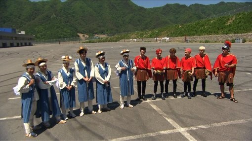 """BIGBANG and """"Running Man"""" Cast to Battle It Out in Race Against Time"""