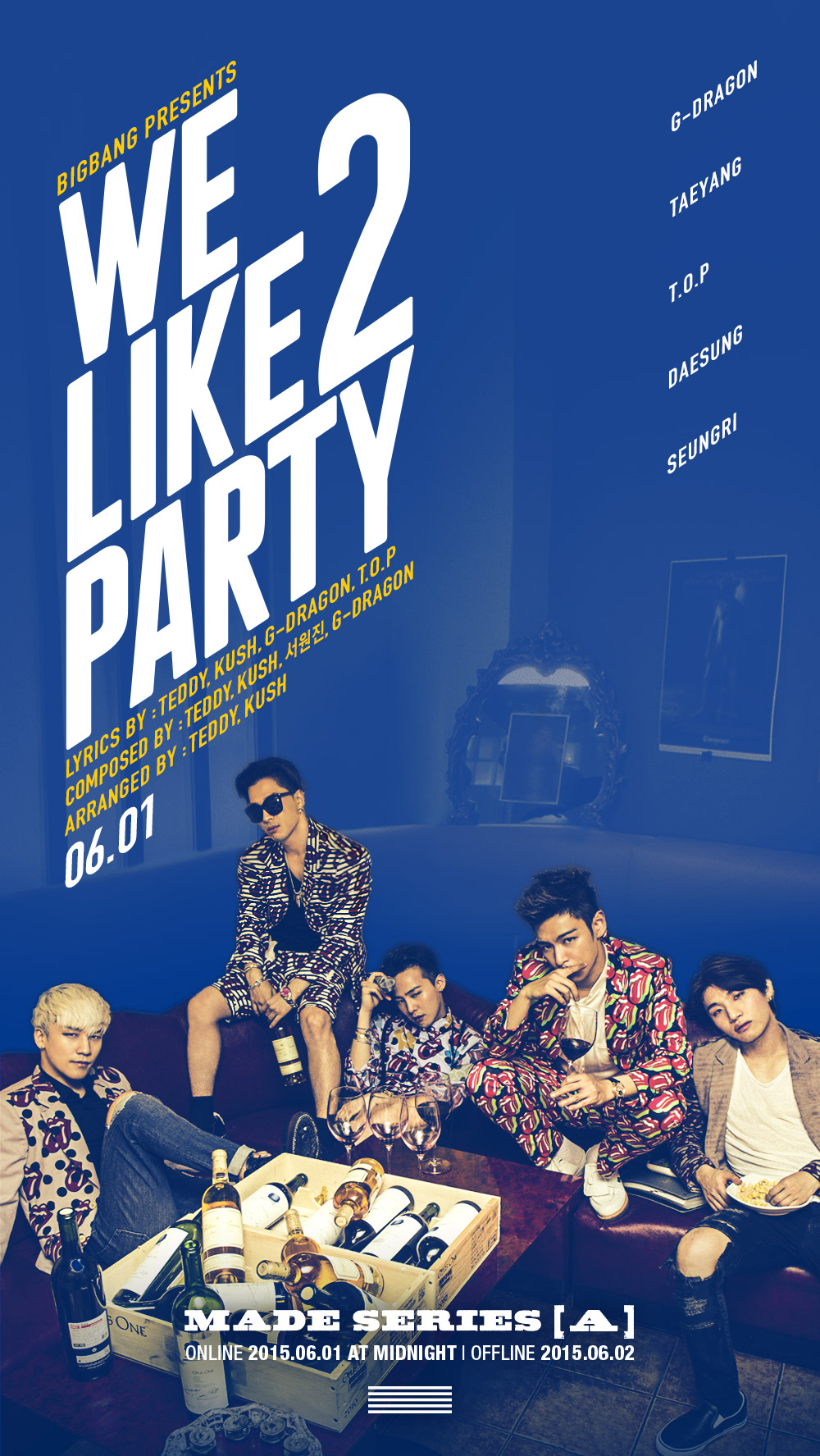 """BIGBANG Actually Drank Alcohol Before Filming """"We Like 2 Party"""" MV"""