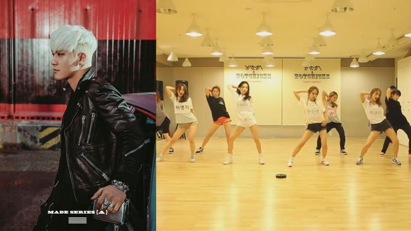 """Seungri Shares a Video of KARA's """"Mamamia"""" Choreography Matching Up with """"Bang Bang Bang"""""""