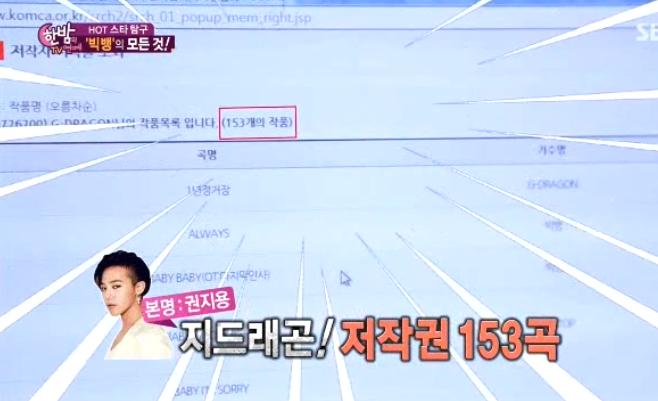 June 24 one night of tv entertainment bigbang 2