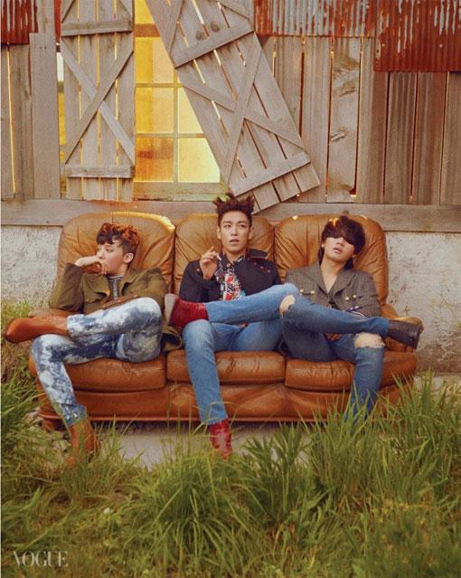 BIGBANG Transforms Into Bohemian Hippies for Vogue