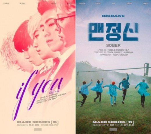 """BIGBANG Tops Domestic Music Charts With """"If You"""" and """"Sober"""""""