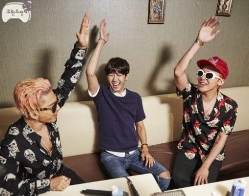 Kwanghee Struggles to Choose Between G-Dragon and Taeyang