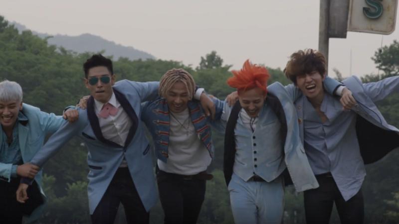 "BIGBANG Has a Blast in Behind-the-Scenes Video of ""Sober"" MV"