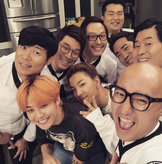 "Hong Suk Chun Gives Fans a Peek Into G-Dragon and Taeyang's Episode of ""Please Take Care of My Refrigerator"""