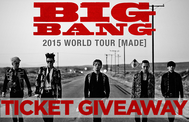 Giveaway: See BIGBANG Live in Newark!