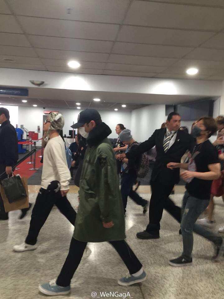 BIGBANG arrival Melbourne 2015-10-20 (2)