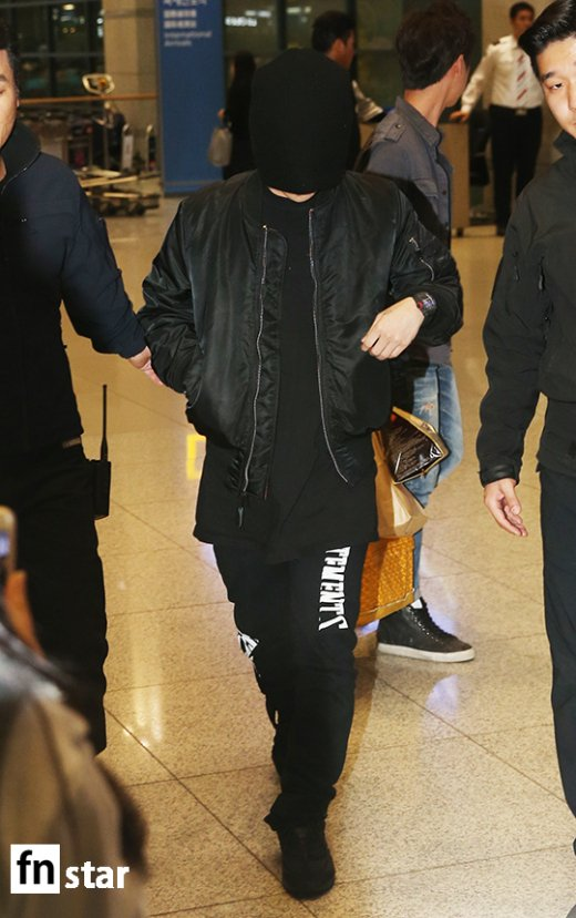 BIGBANG arrival Seoul 2015-10-26 press