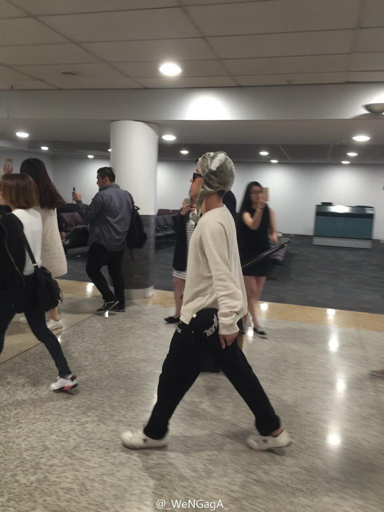 BIGBANG Arrival Melbourne WENGAGA Weibo (4)
